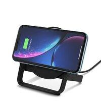 Бездротове зарядний пристрій Belkin Qi Wireless Fast Charging Universal Stand 10W Black (F7U083VFBLK-APL)