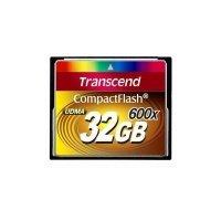 Карта памяти TRANSCEND CF 32GB 600X R98/W87 MB/s (TS32GCF600)