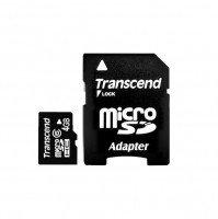Карта памяти Transcend microSDHC 4GB Class 6