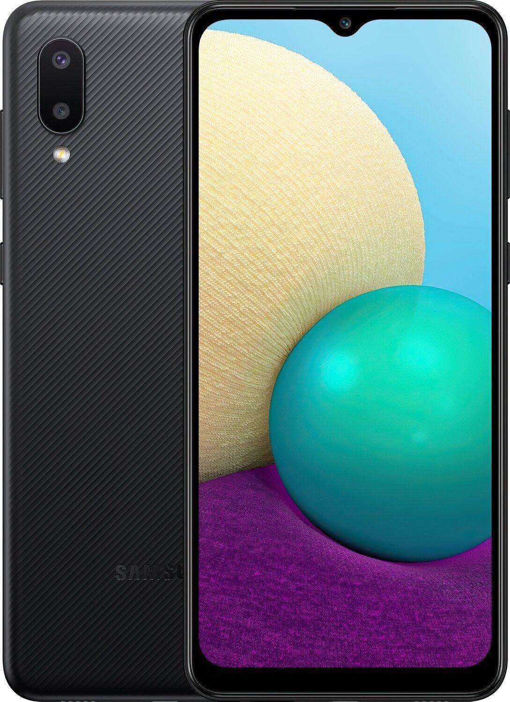Смартфон Samsung Galaxy A02 (A022/32) Black фото 1