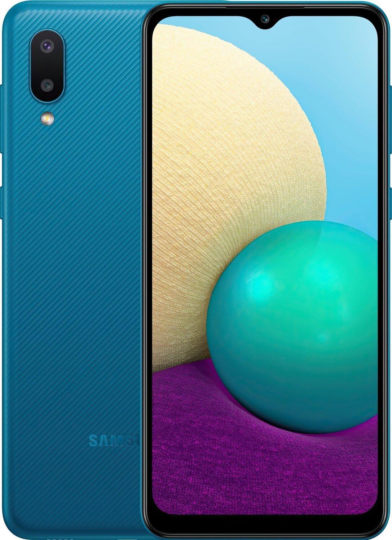 Смартфон Samsung Galaxy A02 (A022/32) Blue фото 1