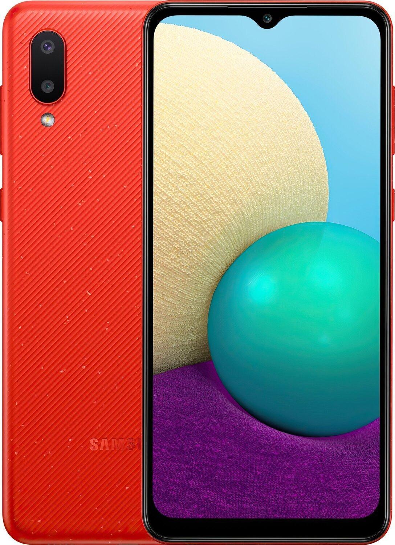 Смартфон Samsung Galaxy A02 (A022/32) Redфото