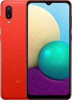 Смартфон Samsung Galaxy A02 (A022/32) Red