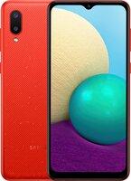 Смартфон Samsung Galaxy A02 (A022/32) Red