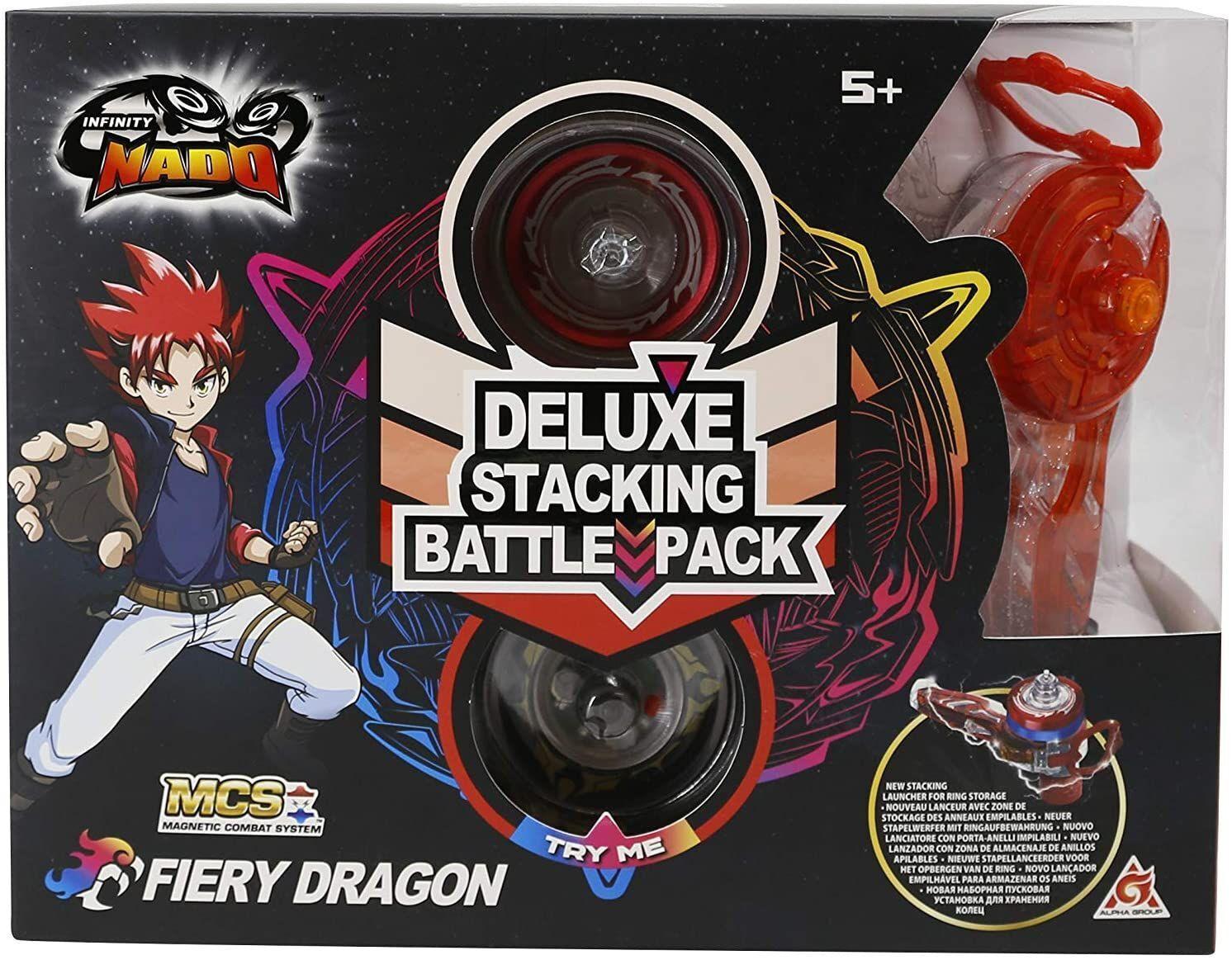 Юла Auldey Infinity Nado V серия Deluxe Edition Fiery Dragon Огненный Дракон фото