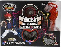 Юла Auldey Infinity Nado V серия Deluxe Edition Fiery Dragon Огненный Дракон