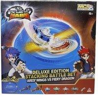 Арена Auldey Infinity Nado V Deluxe Battle Set комплект с двумя волчком Ares 'Wings vs Fiery Dragon Крылья Ареса против