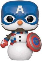 Коллекционная фигурка Funko POP! Marvel: Holiday: Capt America (FUN2503)
