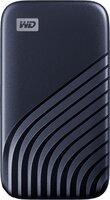 Портативный SSD накопитель WD Passport USB 3.0 500GB Midnight Blue (WDBAGF5000ABL-WESN)