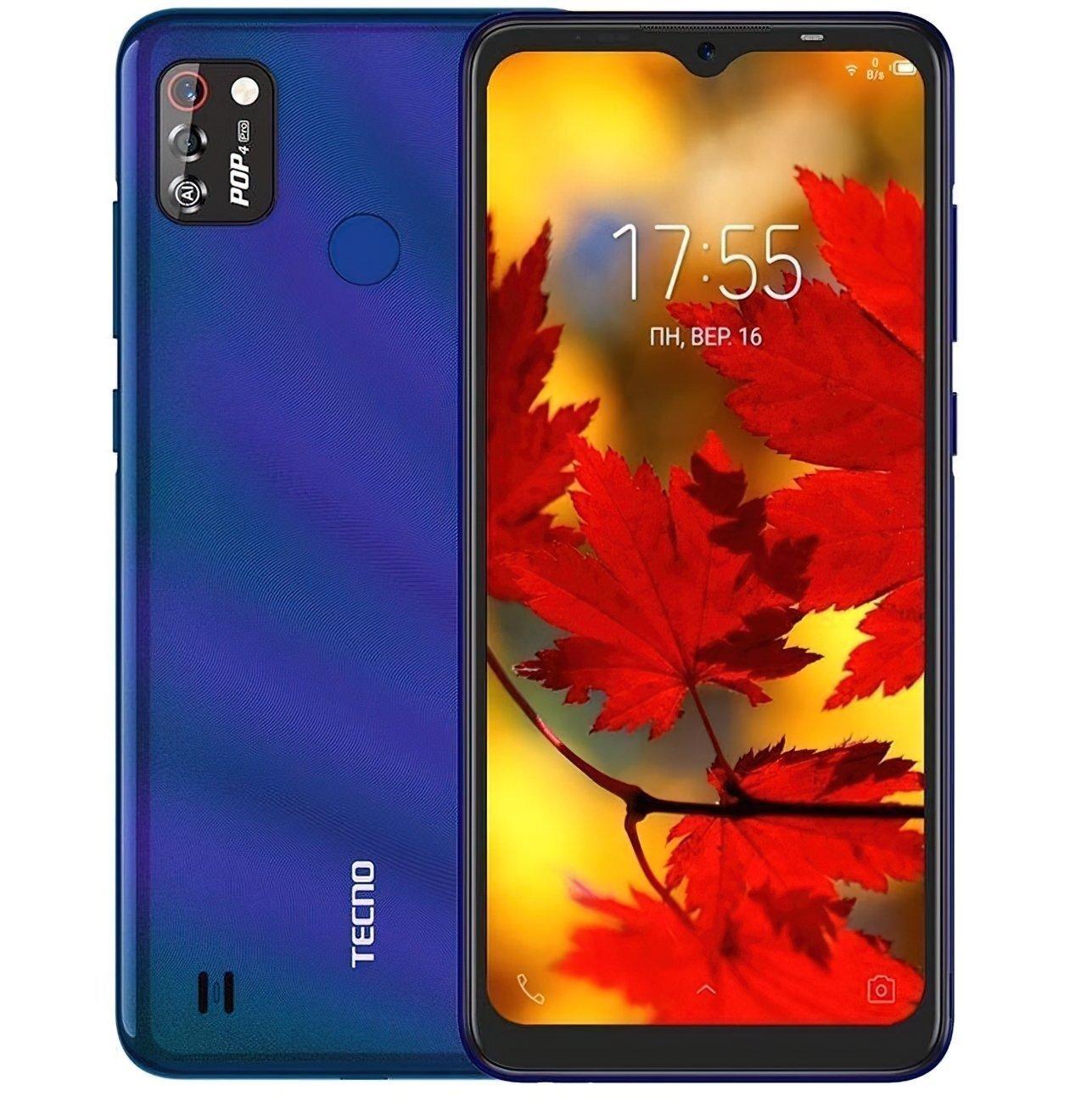 Смартфон TECNO POP 4 Pro (BC3) 1/16Gb Dual SIM Cosmic Shine фото