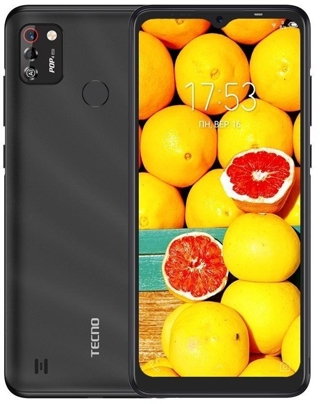 Смартфон TECNO POP 4 Pro (BC3) 1/16Gb Dual SIM Pearl Black фото