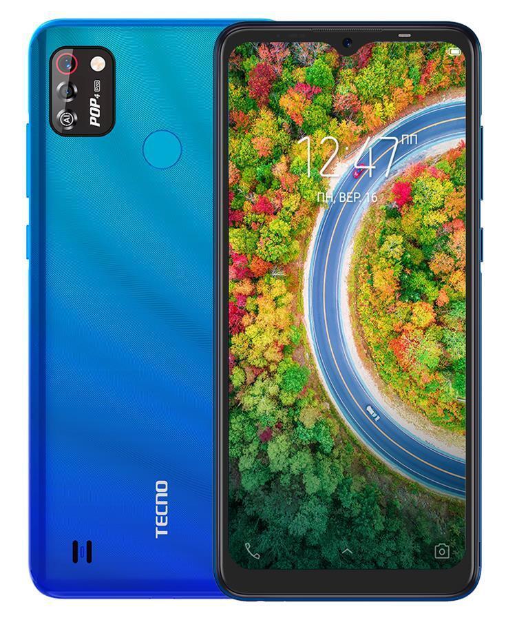 Смартфон TECNO POP 4 Pro (BC3) 1/16Gb Dual SIM Vacation Blue фото