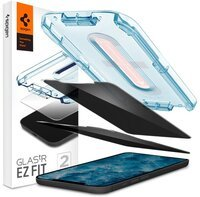 Защитное стекло Spigen для iPhone 12/12 Pro Glas tR EZ Fit Privacy (2Pack)