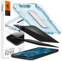 Захисне скло Spigen для iPhone 12 Pro Max Glas tR EZ Fit Privacy (2Pack)