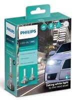 Лампа светодиодная Philips H1 Ultinon Pro5000 + 160%, 2 шт / комплект