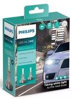 Лампа светодиодная Philips H3 Ultinon Pro5000 + 160%, 2 шт / комплект