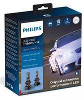 Лампа светодиодная Philips Led-Fog H8 / Р11 / H16 Ultinon Pro9000 + 250%, 2 шт / комплект