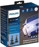 Лампа светодиодная Philips H7 Ultinon Pro9000 + 250%, 2 шт / комплект