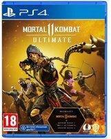 Игра Mortal Kombat 11 Ultimate Edition (PS4, Русские субтитры)