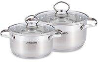 Набір посуду Ardesto Gemini, 4 предметів (AR1904GSS)