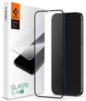 Защитное стекло Spigen для iPhone 12 Pro Max FC Black HD (1Pack)