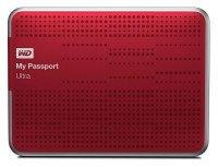 НЖМД WD 2.5 USB 3.0 0.5TB 5400rpm My Passport Ultra Red