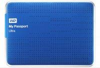 "Жесткий диск WD 2.5"" USB3.0 My Passport Ultra 1TB Blue (WDBZFP0010BBL-EESN)"