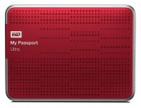 """Жесткий диск WD 2.5"""" USB3.0 My Passport Ultra 1TB Red (WDBZFP0010BRD-EESN)"""