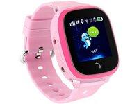 Детские телефон-часы с GPS трекером GOGPS ME K25 Розовые