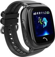Детские телефон-часы с GPS трекером GOGPS ME K25 Черные