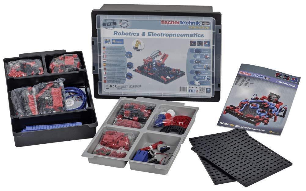 Конструктор fisсhertechnik STEM Робототехника и Електропневматика (без TXT контроллера и аккумулятора) фото 1