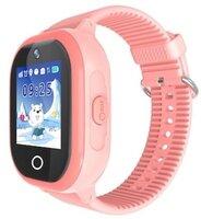 Детские GPS часы-телефон GOGPS ME K26 Розовые
