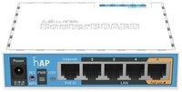 Маршрутизатор MikroTik hAP (RB951Ui-2nD) (RB951UI-2ND)