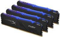 Пам'ять для ПК Kingston DDR4 3000 64GB KIT HyperX Fury RGB (HX430C16FB4AK4/64)