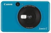 Фотокамера моментальной печати Canon ZOEMINI C CV123 Seaside Blue + 30 листов Zink PhotoPaper (3884C034)