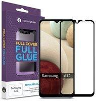 Защитное стекло MakeFuture Galaxy A12 Full Cover Full Glue (MGF-SA12)