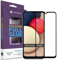 Защитное стекло MakeFuture Galaxy A02s Full Cover Full Glue (MGF-SA02S)