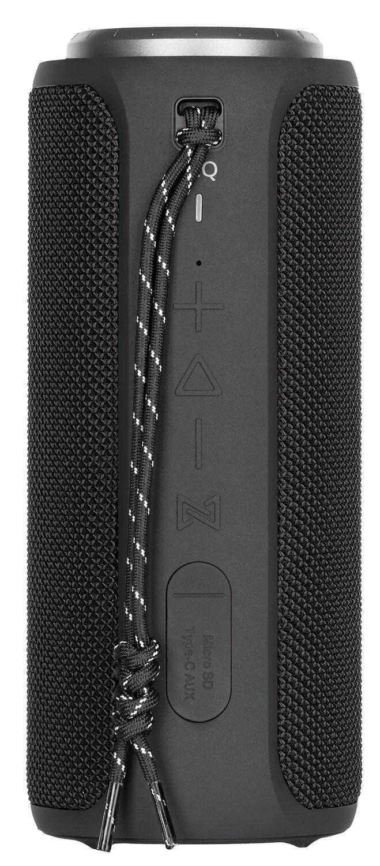 Портативна акустика 2E SoundXTube TWS MP3 Wireless Waterproof Black (2E-BSSXTWBK)фото