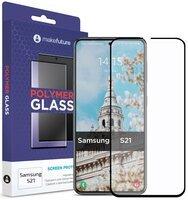 Защитное стекло MakeFuture Galaxy S21(G991) Polymer Glass (MGP-SS21)