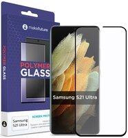 Защитное стекло MakeFuture Galaxy S21 Ultra(G998) Polymer Glass (MGP-SS21U)