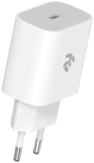 Мережевий зарядний пристрій 2 Е USB-C Wall Charger PD3.0 DC5V/3A Whiteфото