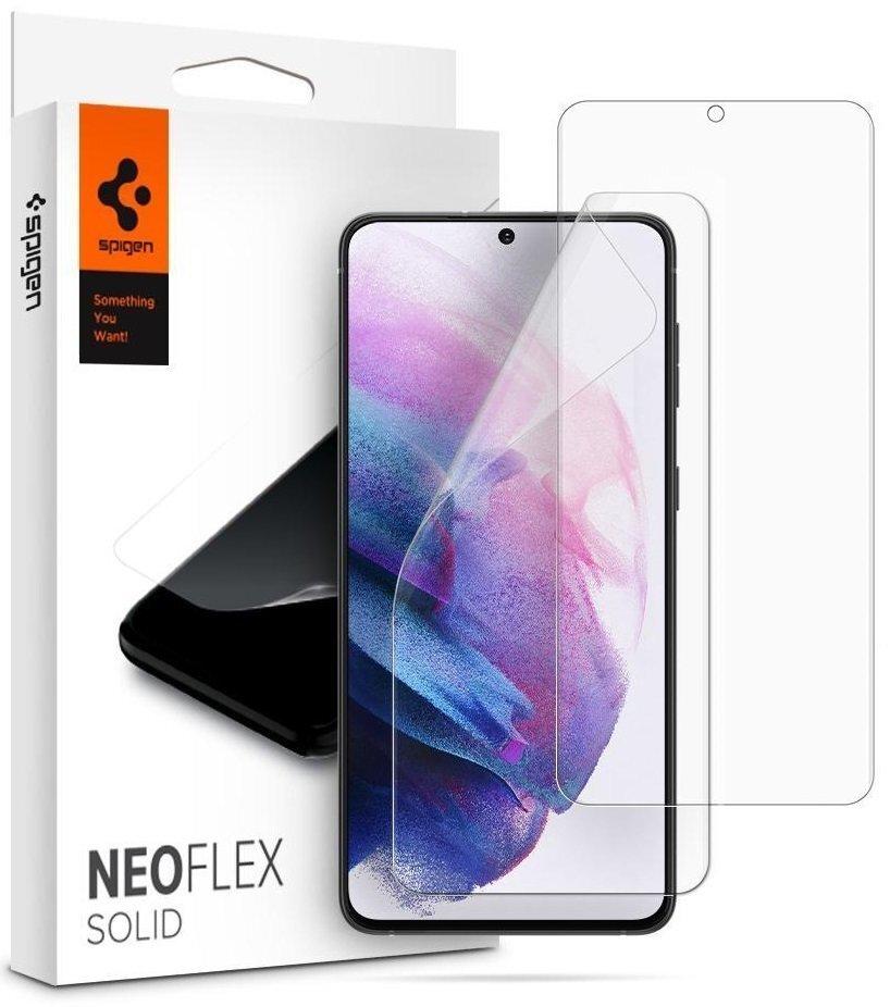 Защитная плёнка Spigen для Galaxy S21 (G991) NeoFlex Solid HD Clear (AFL02557) фото 1
