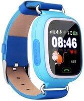 Детский телефон-часы с GPS трекером GOGPS К04 синий