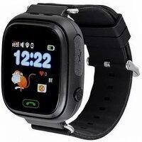 Детский телефон-часы с GPS трекером GOGPS К04 черный