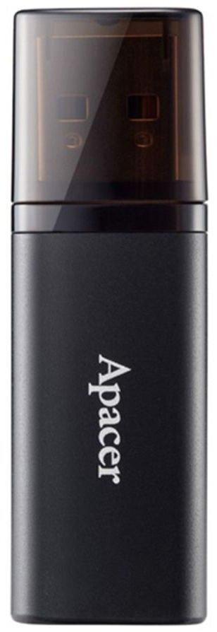Накопичувач APACER 64GB USB 3.1 AH25B Black (AP64GAH25BB-1)фото1