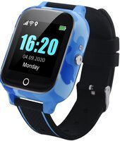 Смарт-часы GOGPS T01 с трекером и термометром Blue