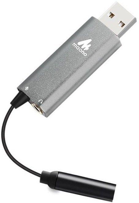 Внешняя звуковая карта Maono by 2Е MSC010, 2*3.5mm/USB фото 1