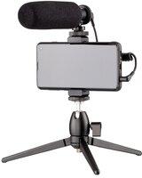 Микрофон Maono by 2Е MM011 Vlog KIT для мобильных устройств+трипод, 3.5mm