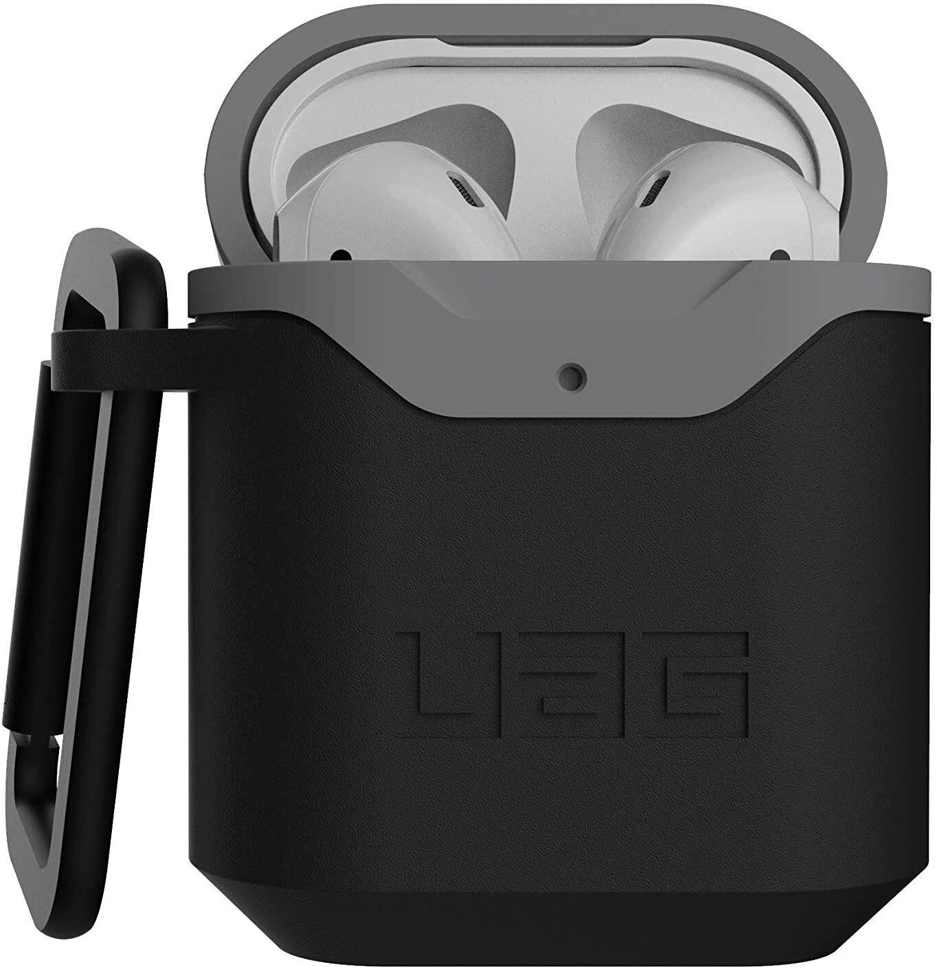 Чехол UAG для Airpods Standard Issue Hard Black/Grey (10242F114030) фото 1