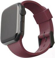 Ремінець UAG для Apple Watch 44/42 Dot Silicone Aubergine